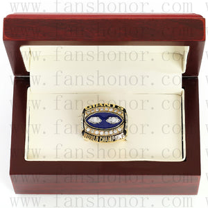 Customized New York giants NFL 1990 Super Bowl XXV Championship Ring