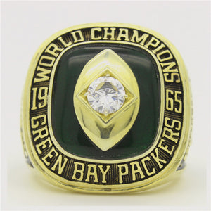 Custom 1965 Green Bay Packers NFL Super Bowl Championship Ring
