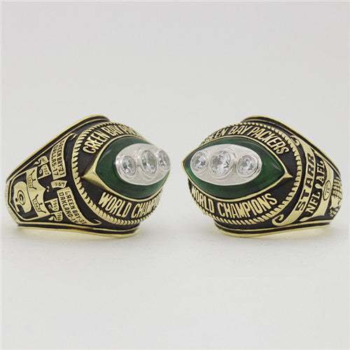 Custom Green Bay Packers 1967 NFL Super Bowl II Championship Ring