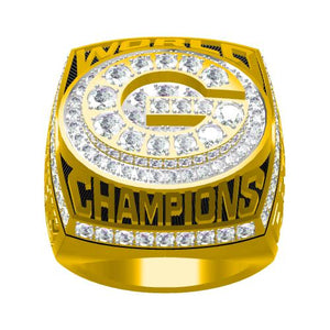 Custom Green Bay Packers 1996 NFL Super Bowl XXXI Championship Ring