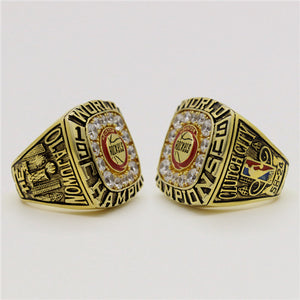 Custom 1994 Houston Rockets NBA Basketball World Championship Ring