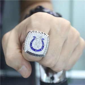 Custom Indianapolis Colts 2006 NFL Super Bowl XLI Championship Ring