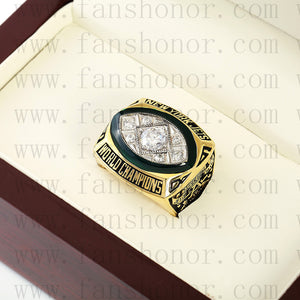 Customized New York Jets NFL 1968 Super Bowl III Championship Ring