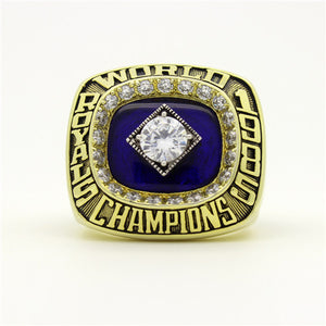 Custom 1985 Kansas City Royals MLB World Series Championship Ring