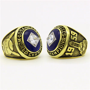 Custom 1959 Los Angeles Dodgers MLB World Series Championship Ring