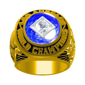 Custom 1965 Los Angeles Dodgers MLB World Series Championship Ring