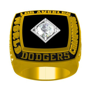 Custom 1981 Los Angeles Dodgers MLB World Series Championship Ring