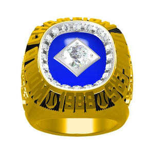 Custom 1988 Los Angeles Dodgers MLB World Series Championship Ring