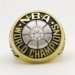 Custom 1972 Los Angeles Lakers NBA Basketball World Championship Ring