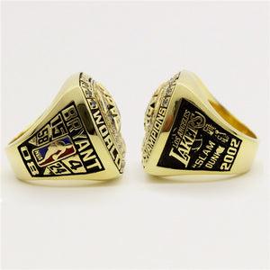 Custom 2002 Los Angeles Lakers National NBA Basketball World Championship Ring