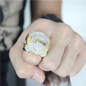 Custom 2010 Los Angeles Lakers NBA Basketball World Championship Ring