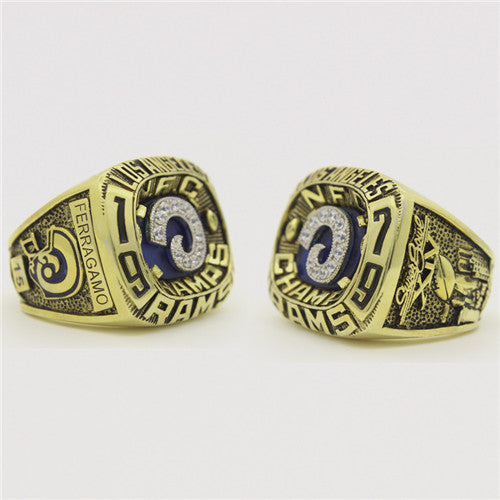Custom 1979 Los Angeles Rams National Football Championship Ring