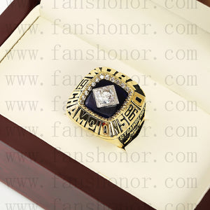 Customized MLB 1986 New York Mets World Series Championship Ring