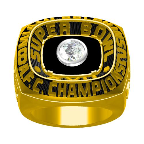 Custom 1982 Miami Dolphins American Football Championship Ring