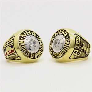 Custom 1971 Milwaukee Bucks NBA Basketball World Championship Ring