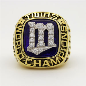 Custom 1987 Minnesota Twins MLB World Series Championship Ring