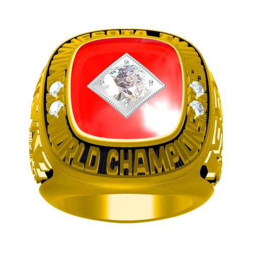Custom 1991 Minnesota Twins MLB World Series Championship Ring