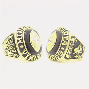 Custom 1969 Minnesota Vikings National Football Championship Ring