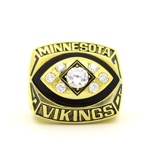 Custom 1976 Minnesota Vikings National Football Championship Ring