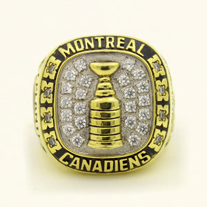 Custom 1956 Montreal Canadiens NHL Stanley Cup Championship Ring