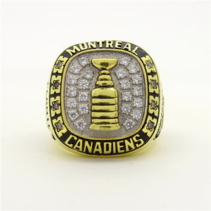 Custom 1957 Montreal Canadiens NHL Stanley Cup Championship Ring