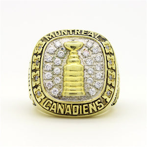 Custom 1959 Montreal Canadiens NHL Stanley Cup Championship Ring