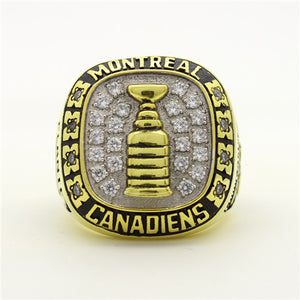 Custom 1960 Montreal Canadiens NHL Stanley Cup Championship Ring