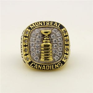 Custom 1965 Montreal Canadiens NHL Stanley Cup Championship Ring