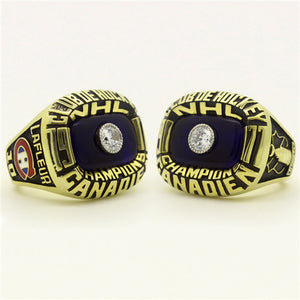 Custom 1977 Montreal Canadiens NHL Stanley Cup Championship Ring