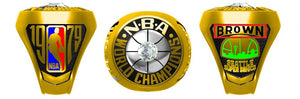 All NBA Championship Rings
