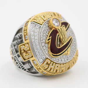 Custom 2016 Cleveland Cavaliers National Basketball World Championship Ring