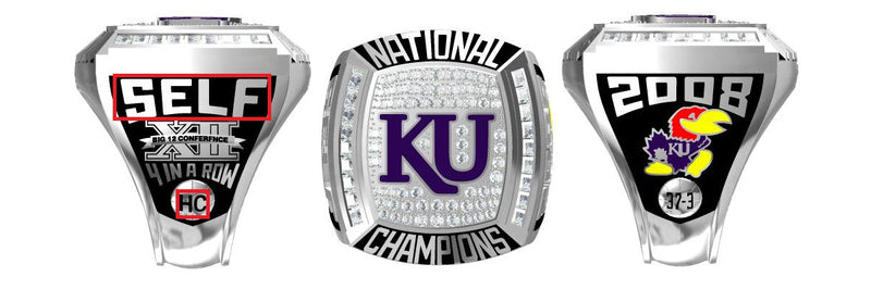 All NCAA Championship Rings