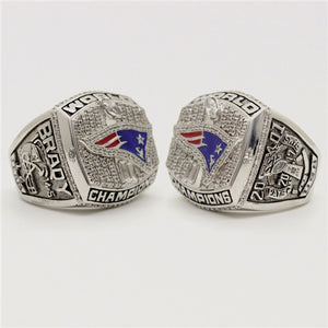 Custom New England Patriots 2001 NFL Super Bowl XXXVI Championship Ring