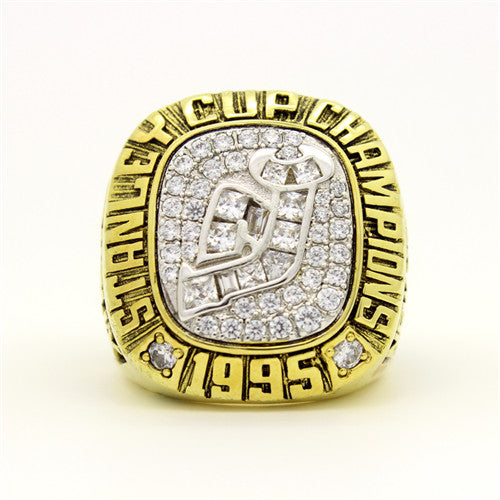 Custom 1995 New Jersey Devils NHL Stanley Cup Championship Ring