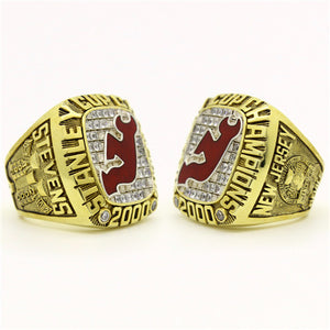 Custom 2000 New Jersey Devils NHL Stanley Cup Championship Ring