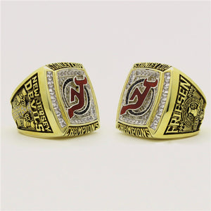 Custom 2003 New Jersey Devils NHL Stanley Cup Championship Ring