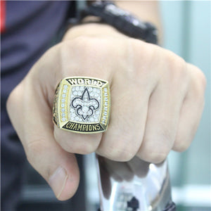 Custom New Orleans Saints 2009 NFL Super Bowl XLIV Championship Ring
