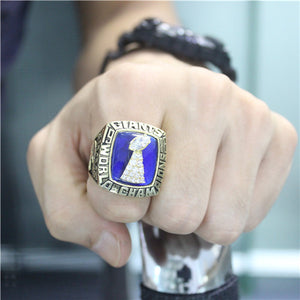 Custom New York Giants 1986 NFL Super Bowl XXI Championship Ring