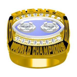 Custom New York Giants 1990 NFL Super Bowl XXV Championship Ring