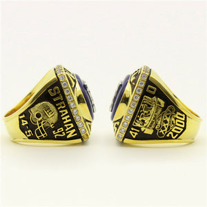 Custom 2000 New York Giants National Football Championship Ring