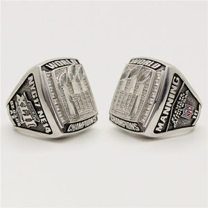 Custom New York Giants 2007 NFL Super Bowl XLII Championship Ring