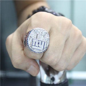 Custom New York Giants 2011 NFL Super Bowl XLVI Championship Ring