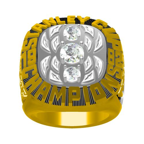 Custom 1982 New York Islanders NHL Stanley Cup Championship Ring