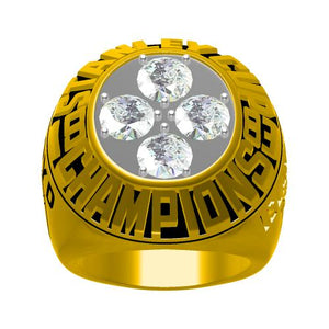 Custom 1983 New York Islanders NHL Stanley Cup Championship Ring
