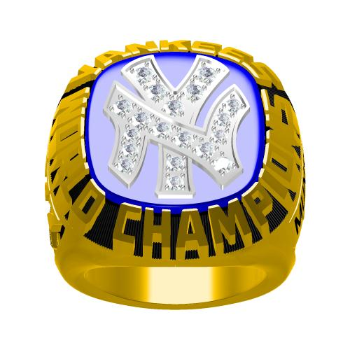 Custom 1977 New York Yankees MLB World Series Championship Ring