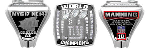 All NFL Super Bowl Championship Rings