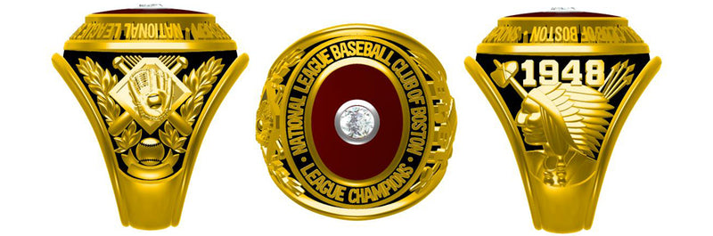 All NL National League NLCS Championship Rings
