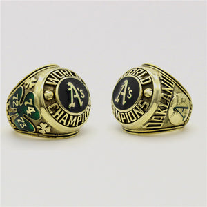 Custom 1974 Oakland Athletics MLB World Series Championship Ring