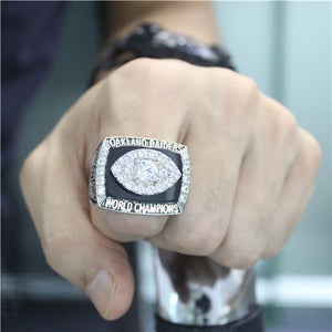 Custom Oakland Raiders 1976 NFL Super Bowl XI Championship Ring
