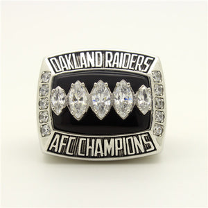 Custom 2002 Oakland Raiders American Football Championship Ring